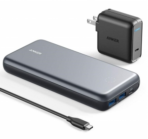 Anker Powercore+ 19000 PD Hybrid Portable Charger and USB Hub