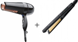 Revlon Salon 360 Surrounded Hair Dryer + Revlon Hair Styler