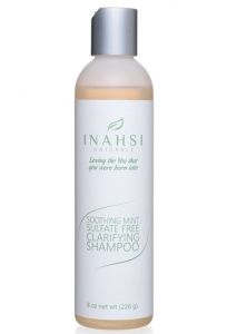 Inahsi Naturals Soothing Mint Sulfate Free Clarifying Shampoo - 8 oz