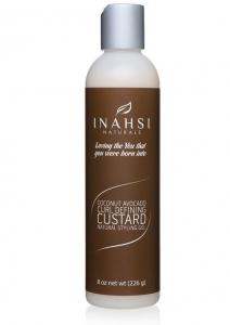 Inahsi Coconut Avocado Curl Defining Custard - 8 oz