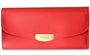 Zyros Women's Genuine Leather Wallet - 97BAG-L