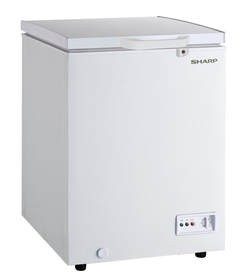 Sharp Chest Freezer 130L 4.5 Cft - SCF-K130X-WH3
