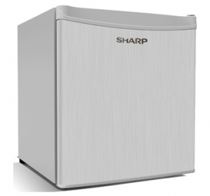 Sharp 75 Liters Mini Refrigerator, Silver - SJ-K75X-SL3