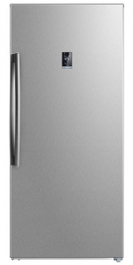 Midea 507L Up Right Freezer - Stainless Steel