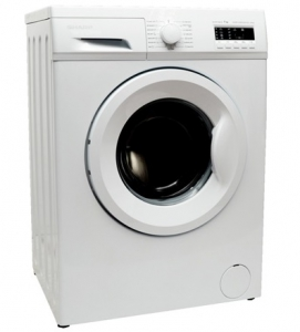 Sharp 6 Kg Front Loading Washing Machine White - ES-FE610CZ-W
