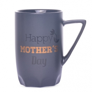 Black Ceramic Matte Mother's Day Coffee Mug