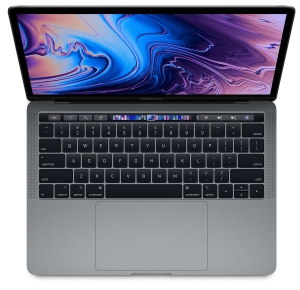 Apple 15-inch MacBook Pro Touch Bar 2.6GHz 6-Core i7 16GB 256GB - Gray