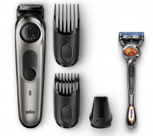 Braun Beard Trimmer BT5065 Black/MT Silver + FREE Gillette Fusion5 ProGlide Razor