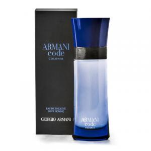 Giorgio Armani Code Colonia Perfume EDT For Men -75ML