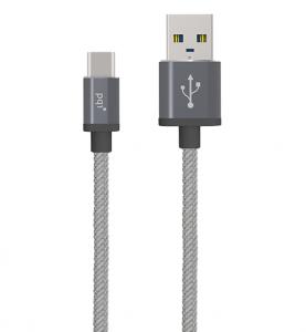 PQI USB-C to A Metallic Cable 100cm / 180cm