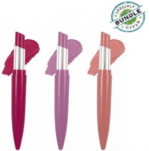 Purple Matte Lipstick - Lipstick Set (Pack of 3)