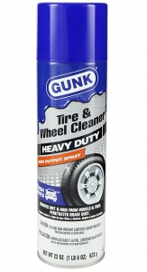 Gunk Heavy Duty Tire & Wheel Cleaner 22 Oz - TFWC22