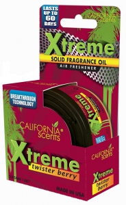California Air Freshener Xtreme Canister Berry