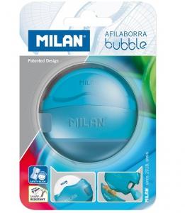 Milan Blister Pack Bubble Sharpeneraser - Blue