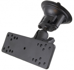 RAM Mounts Twist-Lock Suction Cup Mount with Universal Electronics Plate