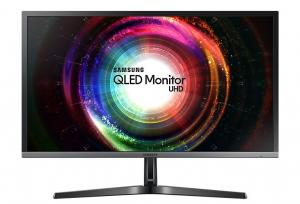 "Samsung 28"" U28H750 QLED UHD Monitor with Quantum Dot 1ms - LU28H750UQMXZN"