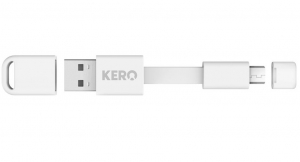 Kero Nomad Micro USB Cable - White