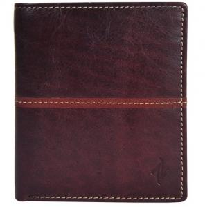Zunash Knight Wallet - Brown - ZWT-8012-M-BN