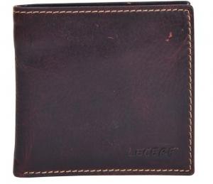 Zunash LRF Leather Wallet - Brown