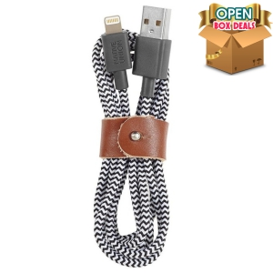Native Union BELT 3M Lightning Cable-Zebra (Open Box)