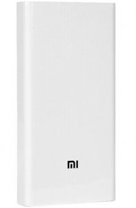 Xiaomi Mi 20000 mAh Power Bank PLM06ZM 2i - White (Lithium Polymer)