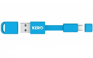 Kero Nomad Micro USB Cable - Blue
