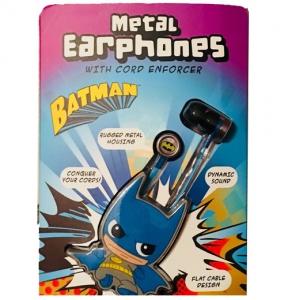 iHip Dc Comics Batman Earbuds - Black