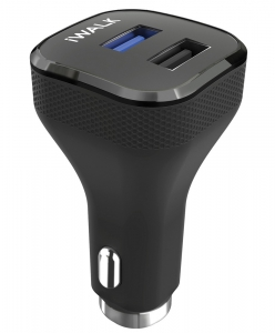 iWalk Quick Charge 3.0 Car Charger (Black) - CCD006Q-001A