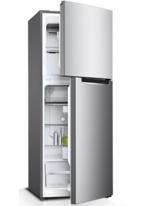 Sharp 260 Liters Double Door Refrigerator - Silver