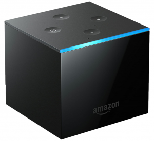 Amazon Fire TV Cube, Hands-free With Alexa and 4K Ultra HD, Streaming Media Player