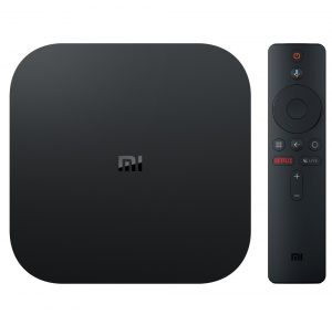 Xiaomi Mi Box S Android TV with Google Assistant Remote Streaming Media Player - 4K HDR