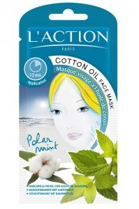 L'action Paris Cotton Oil Face Mask