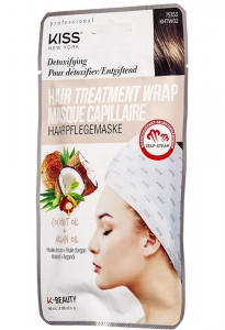 Kiss New York KNYP Hair Treatment Wrap - Coconut Oil