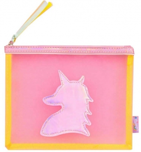 Honey Accessories Cosmetic Cases Travel Portable Bag - Pink
