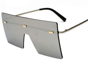 Habaat Rectangle Color Sunglasses
