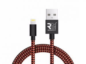 Revomech -ION Charging Cable for iOS - Red - IIBR00