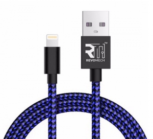 Revomech - ION Charging Cable for iOS - Blue - IIBB00