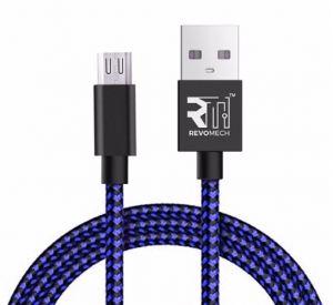 Revomech - ION Charging Cable for Android - Blue - IABB00