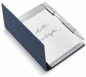Philippi Todd Notebook With Pen - Blue