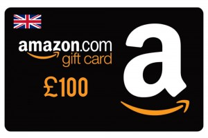 Amazon £100 Digital Gift Card (UK)