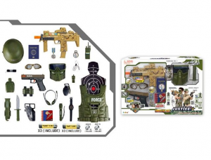 Military Toys With Light/Sound/shake (include Battery)