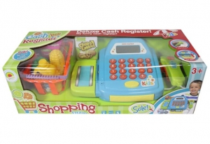 Deluxe Cash Register + Shopping Carts With Light
