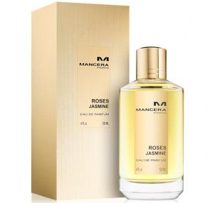 Mancera Roses Jasmine Eau de Parfum Spray for Unisex 120ml