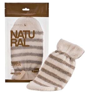 Suavipiel Natural Ramie and Cotton Mitt - K50075