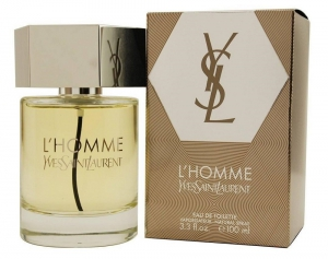 Yves Saint Laurent L'Homme Eau de Toilette Spray for Men - 100 ml