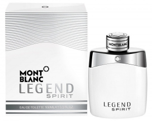 Mont Blanc Legend Spirit Eau de Toilette for Men - 100 ml