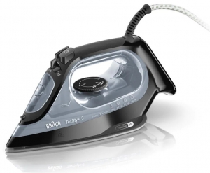 Braun TexStyle 3 Steam Iron Black - SI 3055
