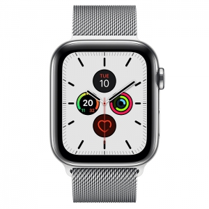 Apple Watch Series 5 GPS + Cellular, 44mm Milanese Loop
