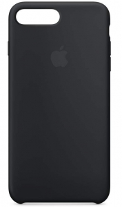 Apple - iPhone 8 Plus / 7 Plus Silicone Case - Black