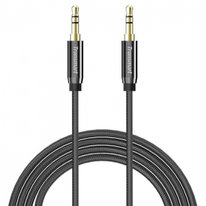 Tronsmart Premium Stereo AUX Audio Cable 4ft - SC301(Black)